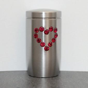 Memory-Urne mit Herz von Goetz Trauerwaren