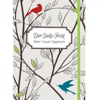 Das Trauer-Tagebuch eignet sich auch als Beileidsgeschenk.  Beatrix Schulte | Der Seele Trost | Mein Trauer-Tagebuch Lingen Verlag | 112 Seiten | Flexobroschur | Euro 6,95