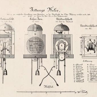 Rettungswecker - Funktion und Legende (Bestattungsmuseum Wien)