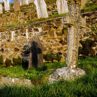 Friedhof Schottland St. Ives 2 - G. Stoverock