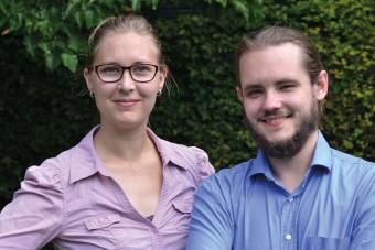 Sabine Landes und Dennis Schmolk haben im Sommer 2015 das unabhängige Infoportal digital-danach.de ins Leben gerufen. (Bild: Copyright Sabrina Kurtz)